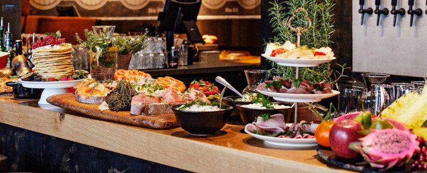 Sonntags-Brunch Buffet im Restaurant Störtebeker Elbphilharmonie