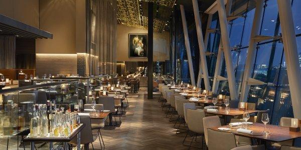 Heritage Hamburg - great restaurant with panoramic view