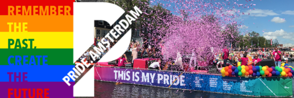 Amsterdam Gay Pride - jährliches LGBT Festival in Amsterdam