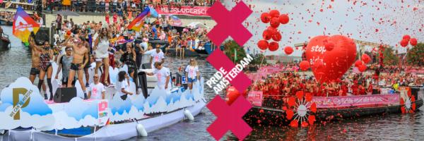 Kanalparade - der Höhepunkt des Amsterdam Pride