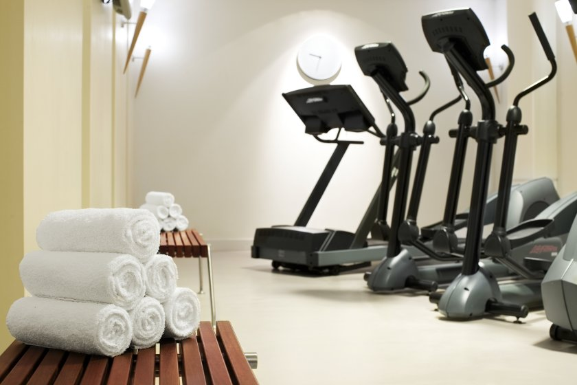 Le Méridien Hotel in Hamburg - 24 h fitness studio