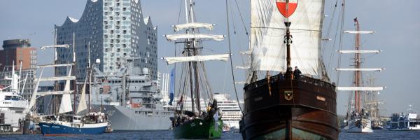 Hamburg Harbour Birthday - every year in May