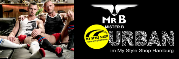 Mister B - Fetish dress in the My Style Shop Hamburg
