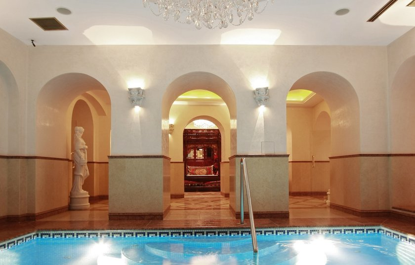 Ecsotica luxury spa - Alchymist Grand Hotel in Prague
