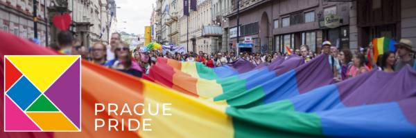 Highlight of the Pride Festival is the Gay Parade through Prague