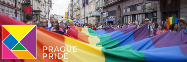Highlight of the Pride Festival is the Gay Parade through Prague