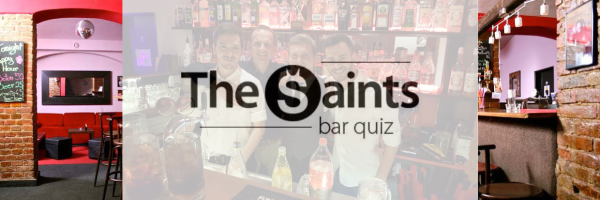 Saints-Bar quiz: always on the last Sunday of the month in Prague