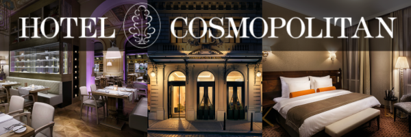 Cosmopolitan Hotel Prague - gay-friendly design hotel in Prague