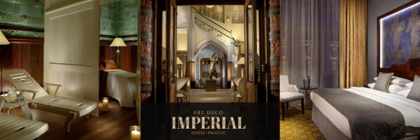 Art Deco Imperial Hotel - gay friendly 5 star luxury hotel in Prague