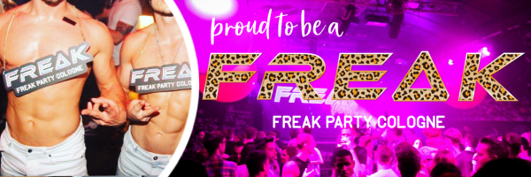 FREAK PARTY - Gay & Lesbian party in Cologne