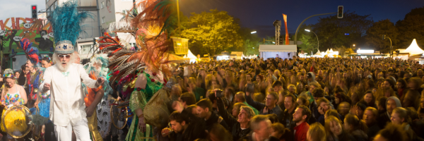 Karneval der Kulturen - Internationales Straßenfest in Berlin