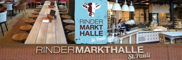 Rindermarkthalle St. Pauli - Market hall with weekly market in Hamburg