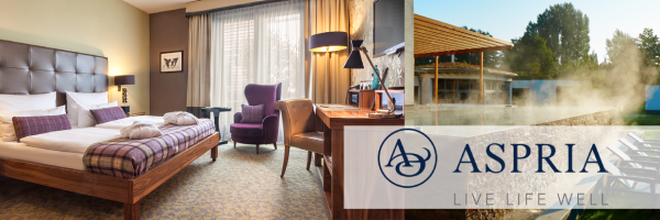 Aspria Hotel Hamburg - Overnight stay incl. free club membership
