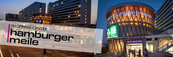 Hamburger Meile - shopping centre in the heart of Hamburg
