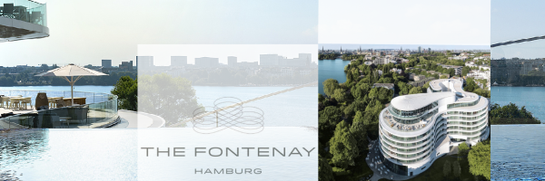 The Fontenay - gayfriendly luxury holiday in a 5-star hotel in Hamburg
