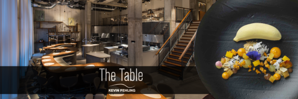 The Table Kevin Fehling Gourmet-Restaurant in der Hamburger Hafen City