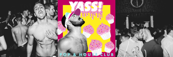 YASS! Party - Popular weekly LGBT & GAY party in Barcelona