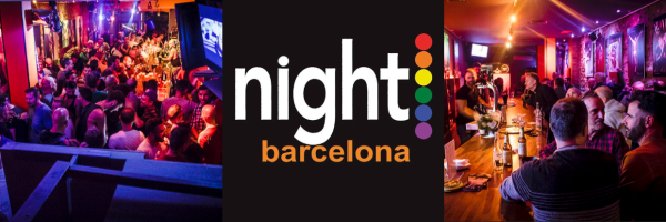 Night Barcelona - Gay-bar in the gay district of Barcelona
