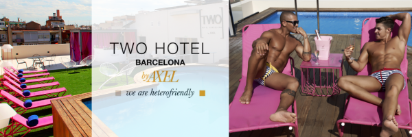 TWO Hotel Barcelona by Axel - gay hotel in Barcelona