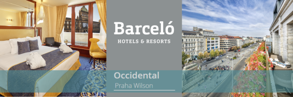 Occidental Praha Wilson - gay friendly hotel in the centre of Prague