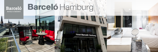 Barceló Hamburg - gayfriendly hotel in the center of Hamburg
