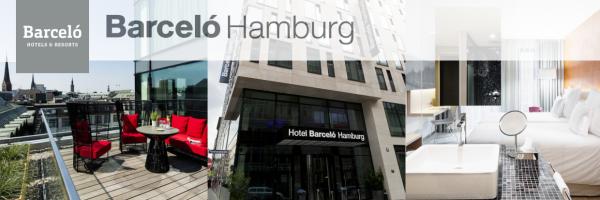 Barceló Hamburg - schwulenfreundliches Hotel im Zentrum von Hamburg