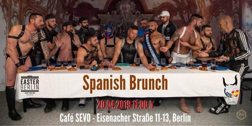 Spanish Brunch @ Easter Berlin Fetish Weekends 2019