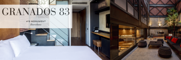 Hotel Granados 83 - gay-friendly design hotel in Barcelona