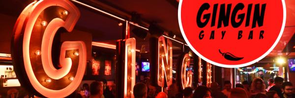 Gingin Gay Bar - Gay bar in the heart of the gay scene in Barcelona