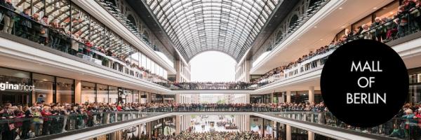 Mall of Berlin Eröffnungsfeier - Einkaufszentrum in Berlin