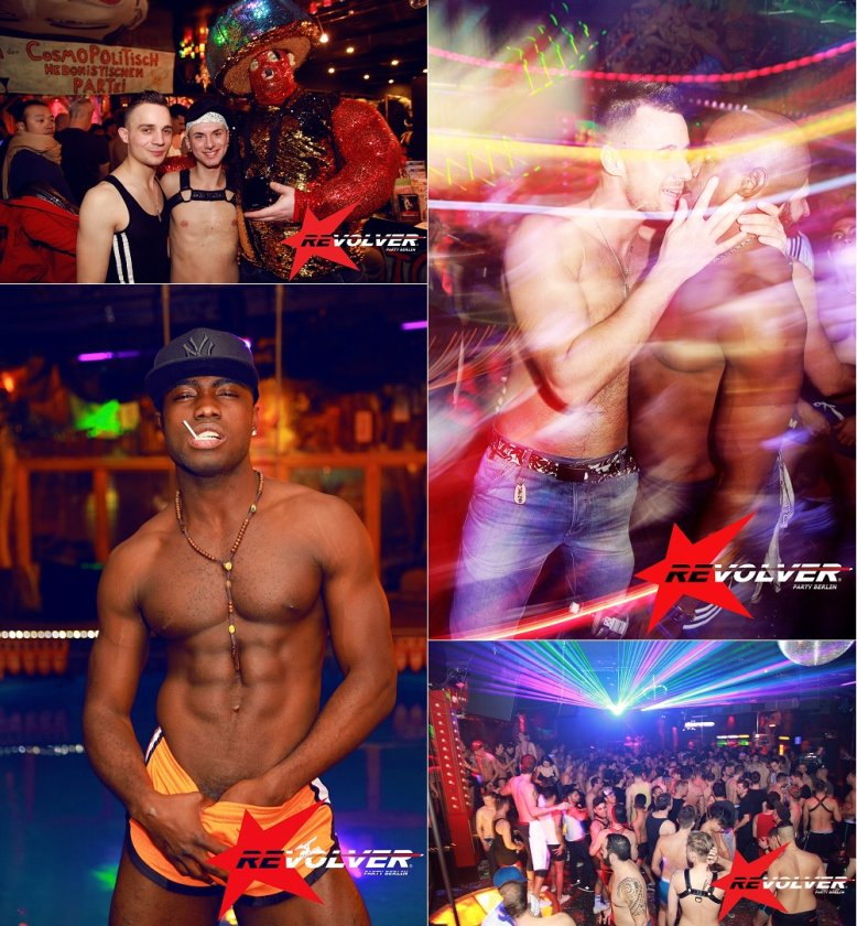 Revolver Party @ KitKatClub Berlin - monthly gay parties in Berlin