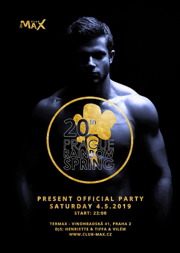 Prague Rainbow Spring - Official party at Club Termix