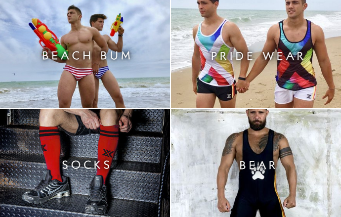 Boxer Barcelona: underwear, socks & sporswear, fetish clothing