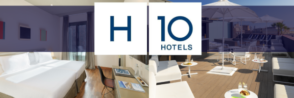 H10 Hotels - gay friendly modern hotel in Barcelona