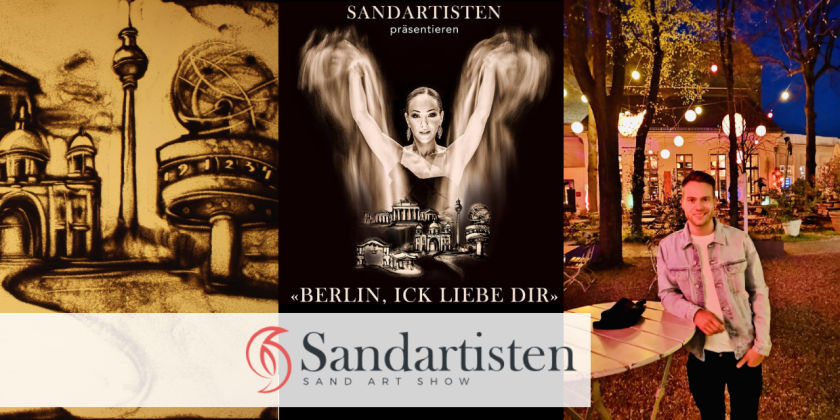 Sandtheater Berlin: Tobi recommends unique sand painting shows