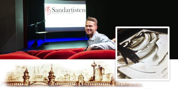 Sandtheater Berlin: Tobi empfiehlt einzigartige Sandmalerei-Show
