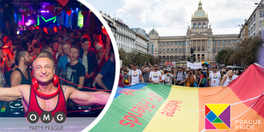 Prague Pride & OMG Party - The biggest LGBT & gay Events in Prague