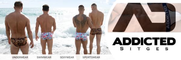 Addicted Sitges - Dein schwuler Shop für sexy Kleidung in Sitges
