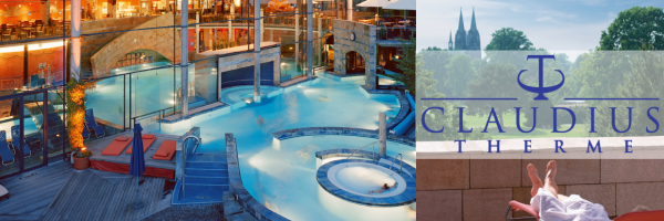 Claudius Therme - thermal bath with sauna, wellness and beauty area