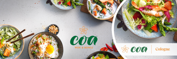 coa Wok & Bowls - The Best of Southeast Asian Kitchens in Cologne