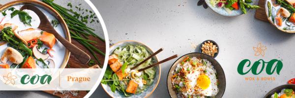 coa Wok & Bowls - The best of Southeast Asian cuisine in Prague