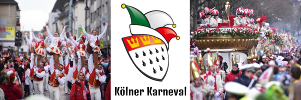 Every year in February the biggest folk festival in Cologne