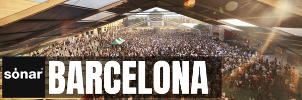 Sónar - international festival for electronic music in Barcelona