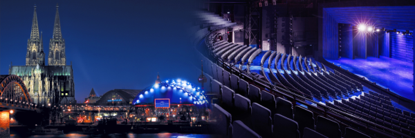 Musical Dome in Cologne - musicals, concerts, comedy & shows