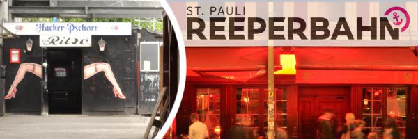 Reeperbahn - Hamburg\'s most famous street in St. Pauli