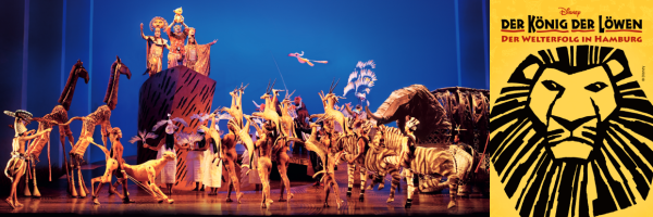 The Lion King in Hamburg - The Musical live at the Stage Theater