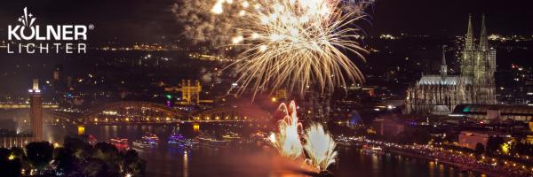 Kölner Lichter - Annual Event with Open Air Stage & Fireworks