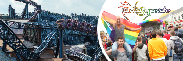 Fantasypride @ Phantasialand - Queer Day at the leisure park Cologne