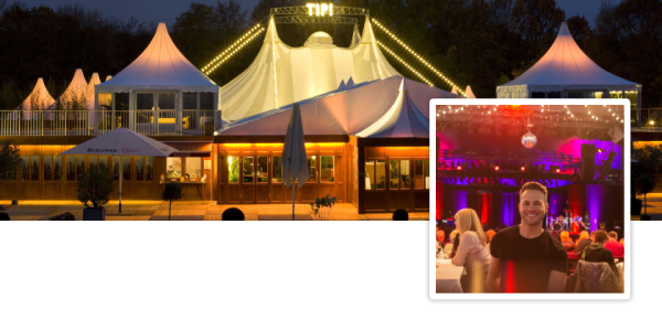 Our event tip for Berlin! The Tipi am Kanzleramt