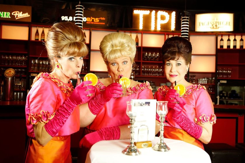 Tipi am Kanzleramt - The Fabulous Singlettes from Australia
